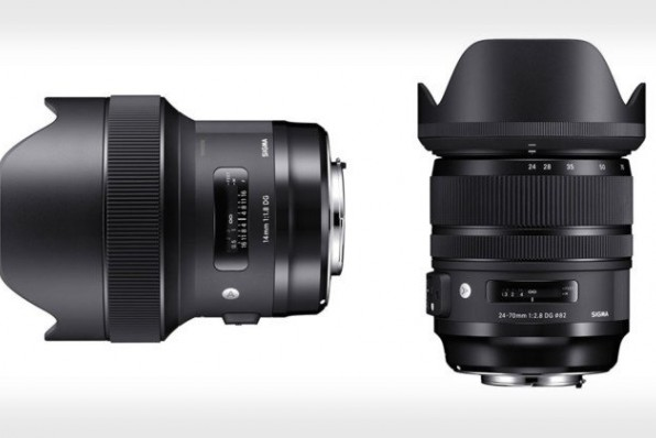 Sigma 14mm f1 8 DG HSM ART và 24 70mm f2 8 DG OS HSM ART (1)